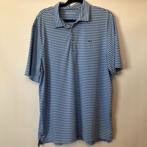 Vineyard Vines Striped Polo Shirt